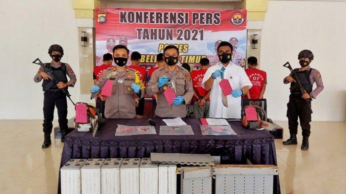 Kasus Illegal Logging di Hutan Pemurnian Meranti Belitung Timur Lanjut ke Tahap Penyidikan, Satu DPO