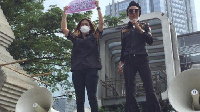 Video Syur Tak Ada Rekayasa, Dewinta Minta PoldaMetro Tetapkan GisellaAnastasia Jadi Tersangka