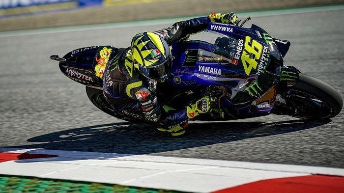 VIDEO Momen Haru Perpisahan Valentino Rossi dengan Yamaha, 13 Tahun Kebersamaan, 4 Gelar Juara Dunia