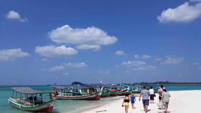 Nasib Nelayan Perahu Wisata Tanjung Kelayang, Kehilangan Mata Pencaharian Akibat Wabah Covid-19
