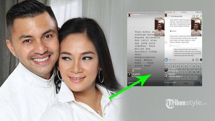 Anjasmara Tak Beri Ampun Netizen yang Ejek Dian Nitami Sebelum Lakukan Ini, Pelaku Ngemis Minta Maaf