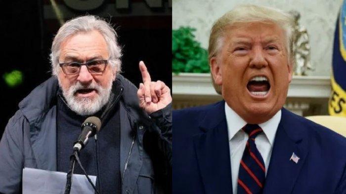 Bintang Hollywood Robert De Niro Sebut Trump Tak Peduli Berapa Banyak Orang Mati karena Virus Corona