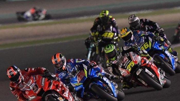 Buktikan Ancaman Suzuki di MotoGP Qatar, Valentino Rossi Jadi Tumbal Alex Rins