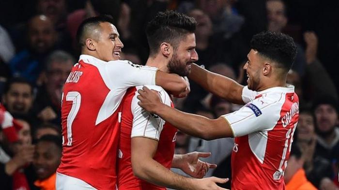 Saran Thierry Henry untuk Giroud dan Alexis Sanchez