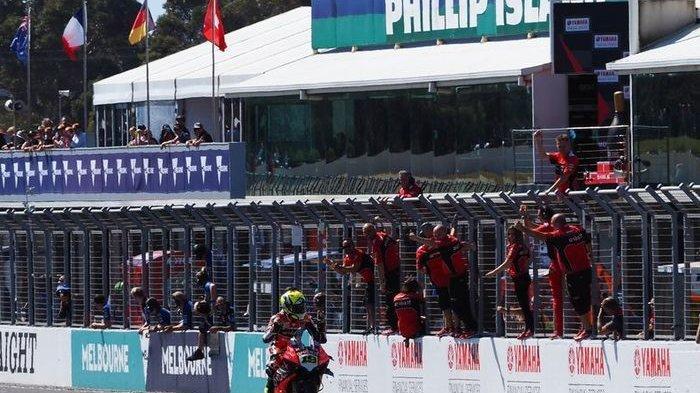 MotoGP Thailand -- Alvaro Bautista Dengan Ducatinya Belum Tersentuh di FP2 WSBK Thailand