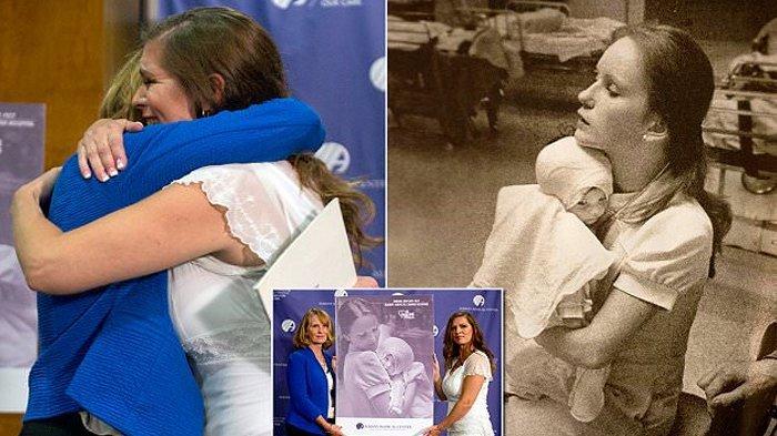 Berbekal Foto, Wanita Ini Mencari perawat Yang Memeluknya Hampir 40 Tahun Lalu