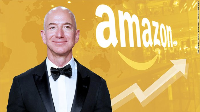 Tajir Melintir se-Jagat Raya, Begini Cara Bos Amazon Belanjakan Duitnya
