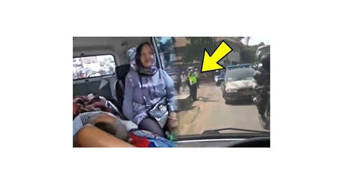 Video Ambulans Teradang Rombongan Polisi Viral, Polda Jabar Minta Maaf, Begini Penjelasannya