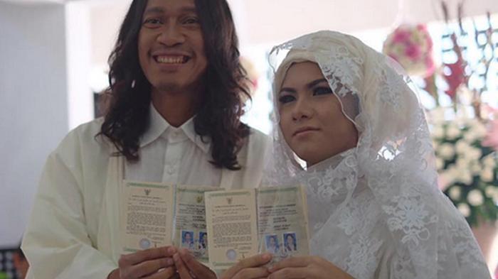 Baru Sebulan Menikah, Istri Aming Sudah Hamil
