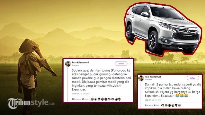 Heboh! Anak Kampung Beli Mobil Cash yang Harganya Bikin Melongo, Netizen Penasaran Usahanya