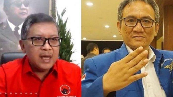 PDIP dan Demokrat Memanas, Hasto Sebut SBY Bapak Bansos, Andi Arief Sebut Megawati Selalu Kalah