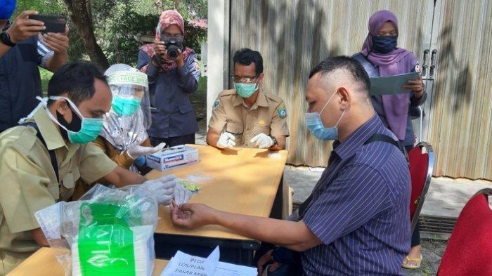 Bawaslu Belitung Timur Lakukan Rapid Test Pada Anggotanya