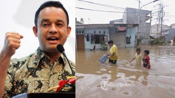 Anies Baswedan Sebut Banjir Jakarta Mulai Surut, Tapi Masih Ada 236 RW Terendam Banjir
