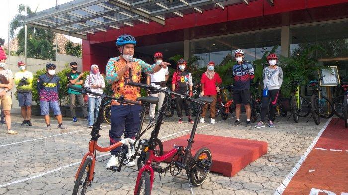 Molen Gowes Bareng Masyarakat di Anniversary 3rd Cordela Hotel: Ayo Lawan Covid dengan Olahraga
