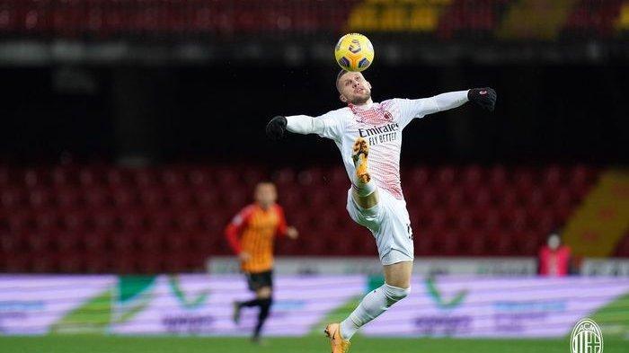 Hasil Liga Italia Benevento Vs AC Milan, 10 Pemain Rossoneri Tumbangkan Tuan Rumah