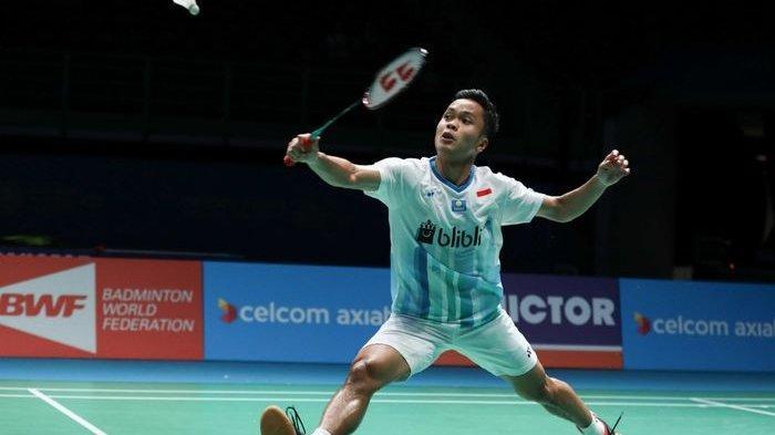 Singapore Open 2019 - Anthony Ginting Melaju ke Final, Lawanya Kento Momota atau Viktor Axelsen