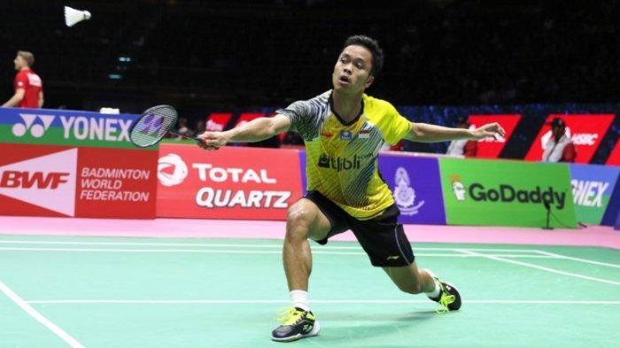 Kalahkan Chou Tien Chen, Anthony Ginting Melaju ke Babak Final