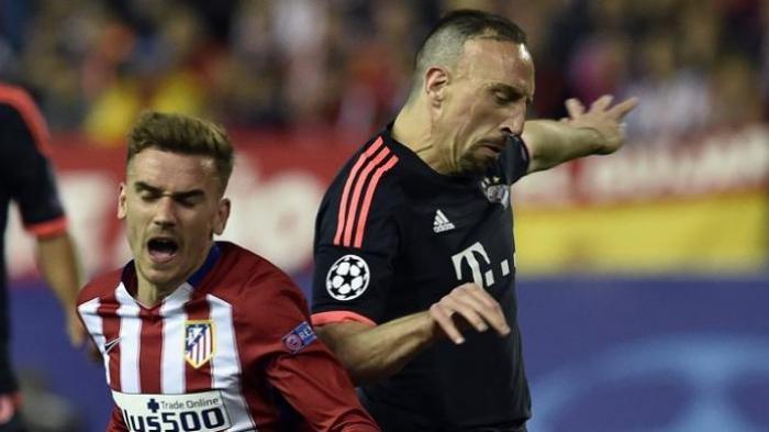 Saat Griezmann Balas Komentar Ribery soal Pemain Kelas Dunia