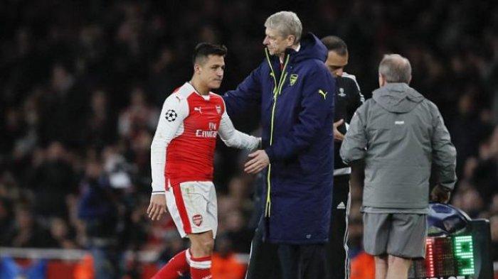 Arsenal Dibantai Bayern Muenchen, Alexis Sanchez Malah Bercanda di Bangku Cadangan