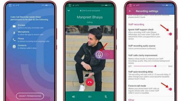 Cara merekam panggilan WhatsApp di perangkat Android