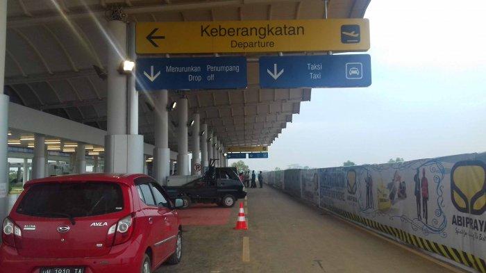 Belum Selesai Pengerjaan, Terminal Bandara Depati Amir Dioperasionalkan