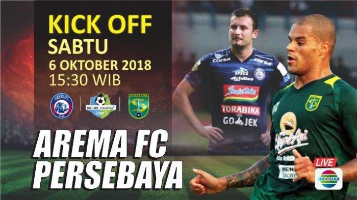 Live Streaming - Arema FC Vs Persebaya Surabaya 6 Oktober 2018