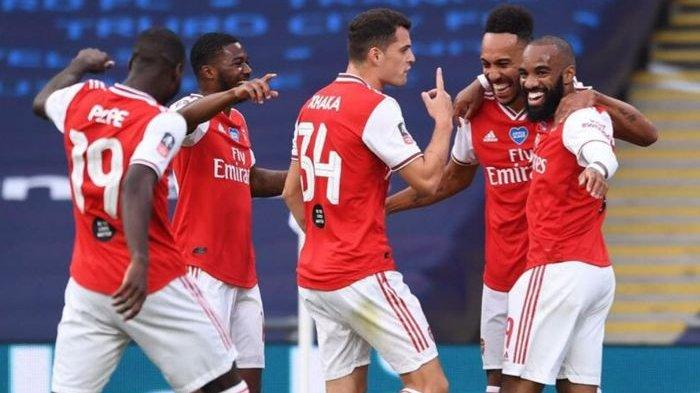 Link Live Streaming Arsenal Vs Liverpool - Laga FA Community Shield 2020, Kick-off 22.30 WIB