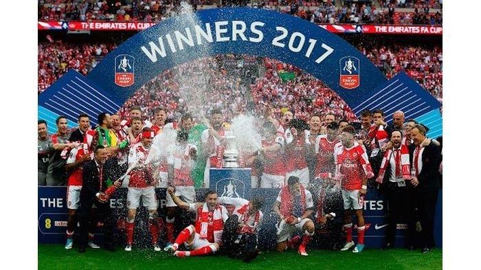 Ini 6 Fakta Menarik Keberhasilan Arsenal Tumbangkan Chelsea dan Raih Gelar Juara Piala FA