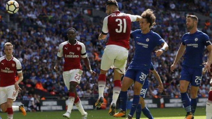 Kegagalan Penalti Stiker Anyar Chelsea,  Sukses Arsenal Rengkuh Community Shield