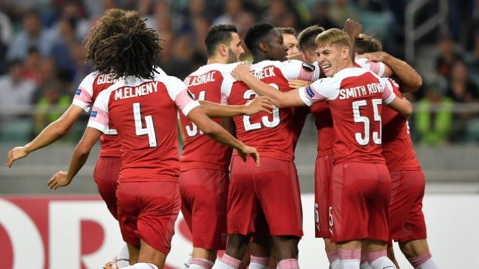 Arsenal Petik Tiga Poin di Kandang Qarabag