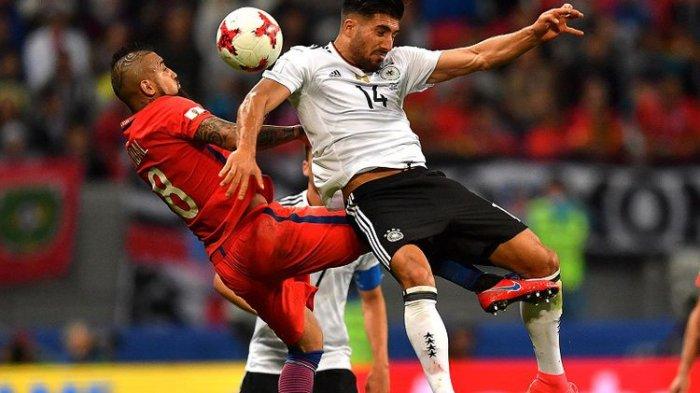 Jerman Bermain Imbang Dengan Cile di Piala Konfederasi