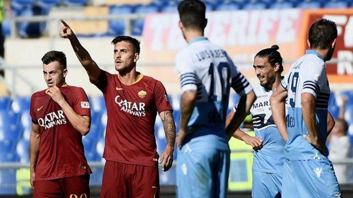 Tekuk Lazio 3-1, AS Roma Akhirnya Melompat Lima Peringkat