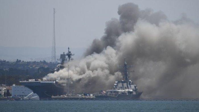 Komandan Pasukan Quds ini Anggap Kapal Perang AS Meledak & Lukai 21 Orang adalah Hukuman dari Tuhan