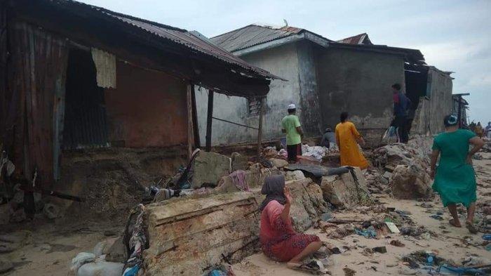 Bupati Belitung Sebut Bantuan Pulau Gersik Terkendala Cuaca Buruk
