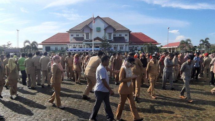Mulai Senin, ASN Kabupaten Belitung Terapkan Bekerja di Rumah, Kecuali Dua OPD Kantor Pelayanan