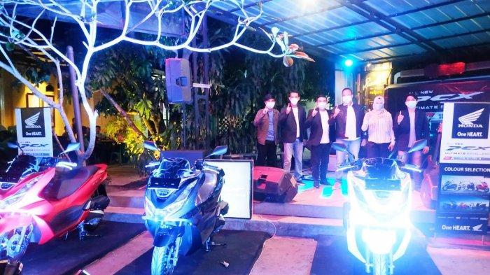 PT Asia Surya Perkasa Launching New Honda PCX 160 di Tanjungpandan