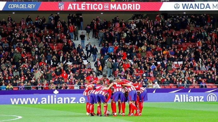 Tonton LIVE STREAMING Copa del Rey, Atletico Madrid Vs Sevilla Pukul 01.00 WIB