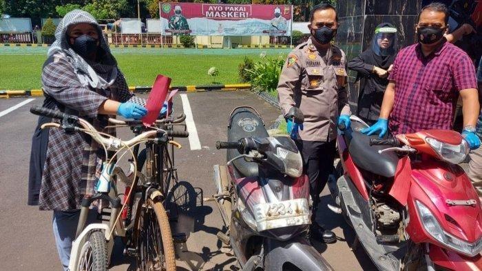 Ayah dan Anak Kompak Berbuat Jahat, Curi Sepeda Warga di Tewas, Dikayuh dari Cirebon ke Majalengka
