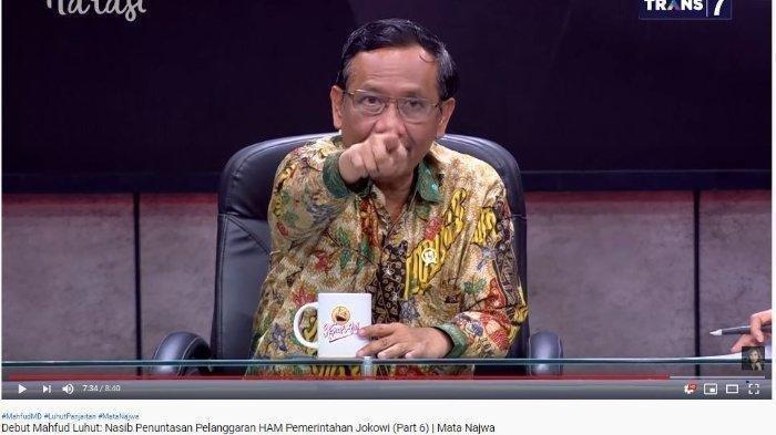 Mahfud MD Bocorkan Daftar Orang dan Organisasi Terlibat Terorisme di Indonesia, Terbaru KKB Papua