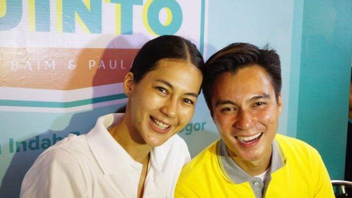 Baim Wong Berteriak Histeris saat Tahu Paula Verhoeven Positif Hamil
