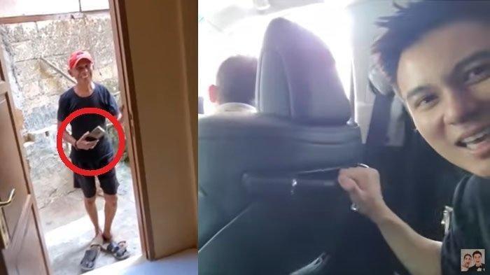 Pria Bertopi Merah Ini Langsung Mundur saat Kepergok Baim Wong, Ternyata Ketahuan Lakukan Hal ini