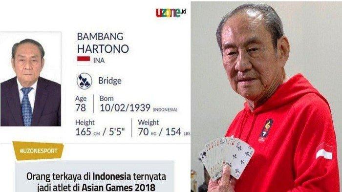 Bos PT Djarum Bambang Hartono Akhirnya Raih Medali Perunggu