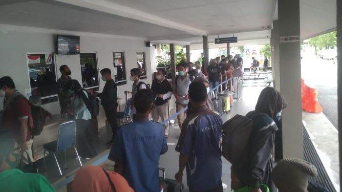Penumpang di Bandara HAS Hanandjoedin Mulai Alami Kenaikan Jelang Pemberlakuan Larangan Mudik