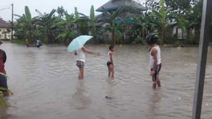 Ini Titik Rawan Banjir Versi Tagana Bangka