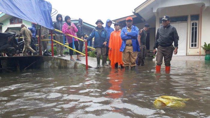 Cegah Banjir, BPBD Belitung Pantau Titik Rawan