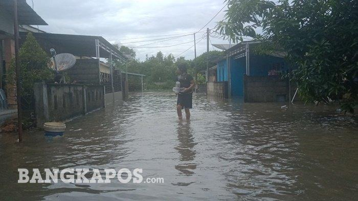 Rumah Terdampak Banjir di Billiton Regency, Meluas Jadi 29 Unit