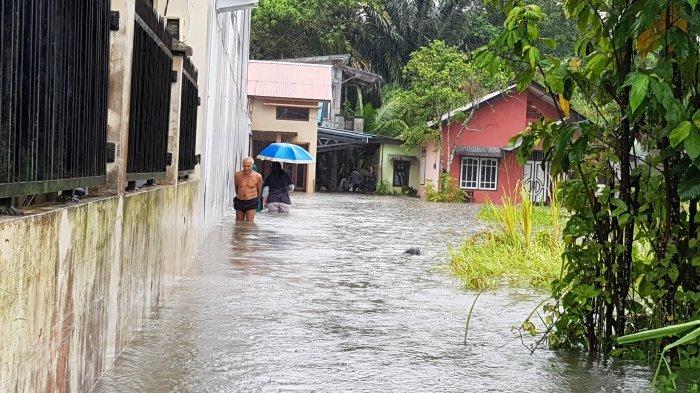 Sejumlah Kawasan di Tanjungpandan Terendam Banjir, Warga Tanggapi Pasrah Hingga Pesimis