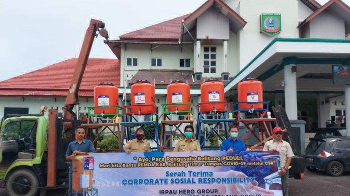 CV Irpau Hero Group Peduli Masyarakat Belitung Timur