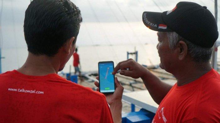 Telkomsel-KKP Bantu 10 Kapal bagi Nelayan, Disertai Sosialisasi Digital e-LogBook Penangkapan Ikan