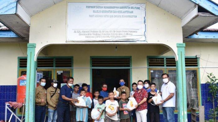 Perusahaan Tambang di Belitung Ini Kembali Salurkan Bantuan Desa dan Anak Yatim